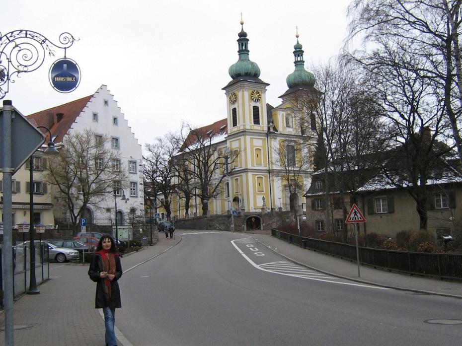 biserica sf ioan - izvorul dunarii - germania