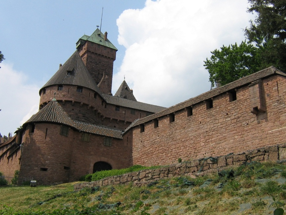 castelul haut koenigsbourg - alsacia