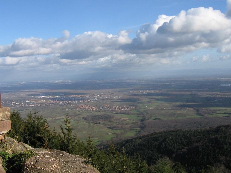 mont sainte odile- alsace
