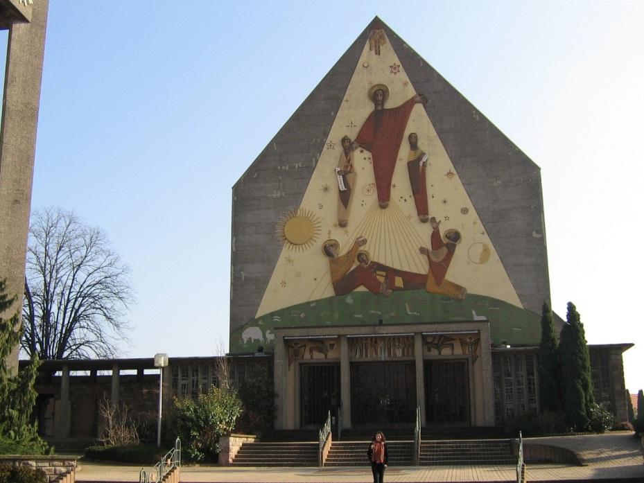 Biserica St Etienne – Seltz- Alsacia