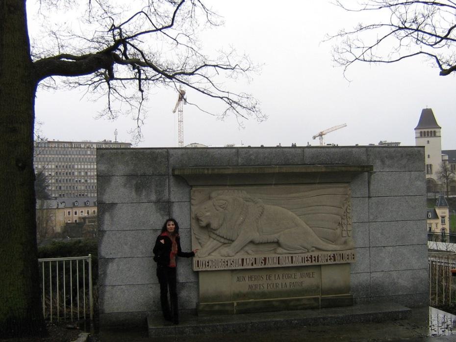 Monumentul solidaritatii nationale - Luxemburg