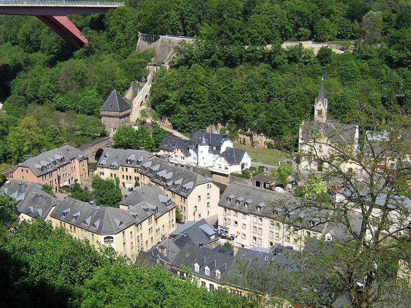 orasul de jos - Luxemburg