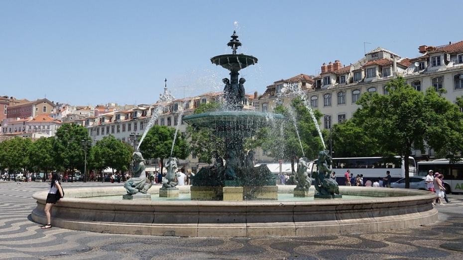 Piata Rossio-Lisabona