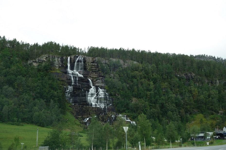 Cascada Norvegia