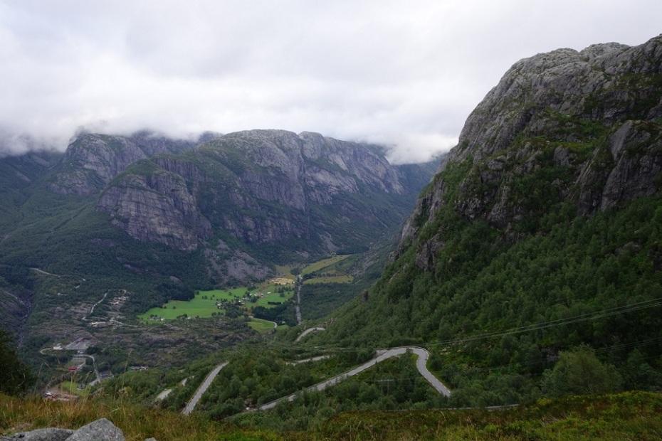 Lysebotn Road