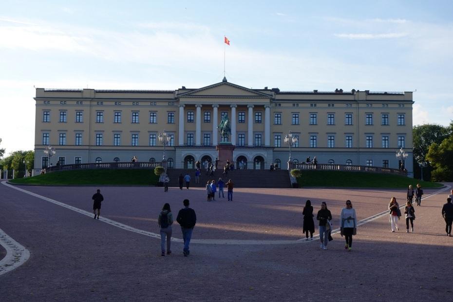 Palatul Regal - Oslo - Norvegia