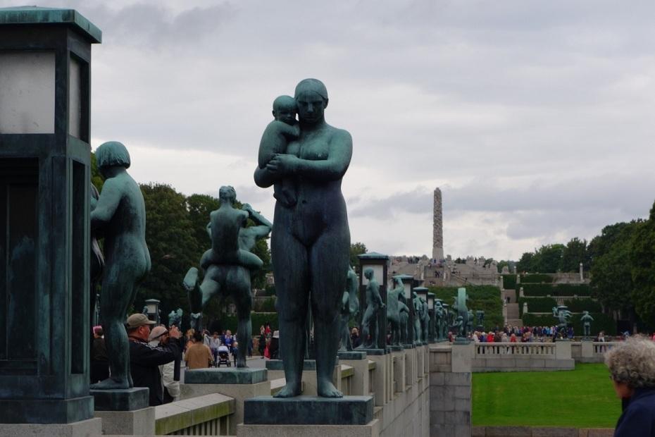 Parcul cu Sculpturi Vigeland din Oslo