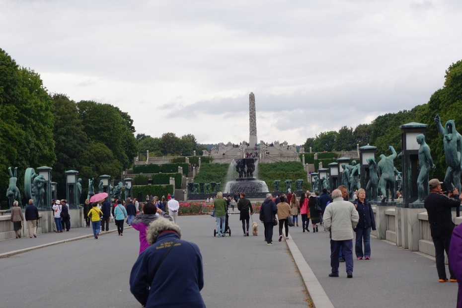 Parcul cu Sculpturi Vigeland -Norvegia
