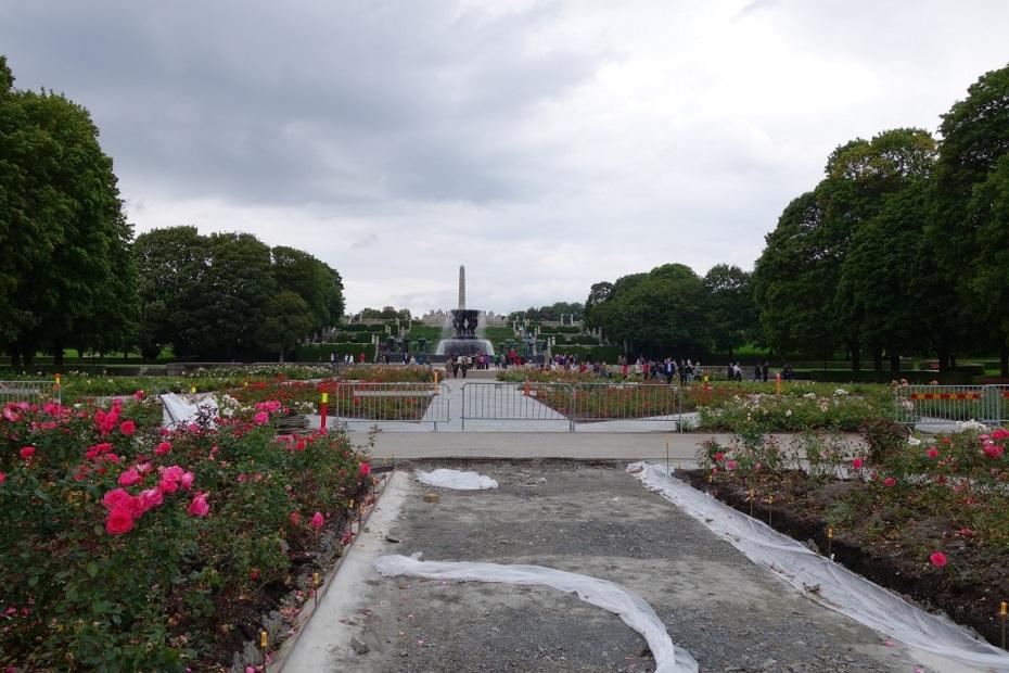 Parcul cu Sculpturi Vigeland - Oslo