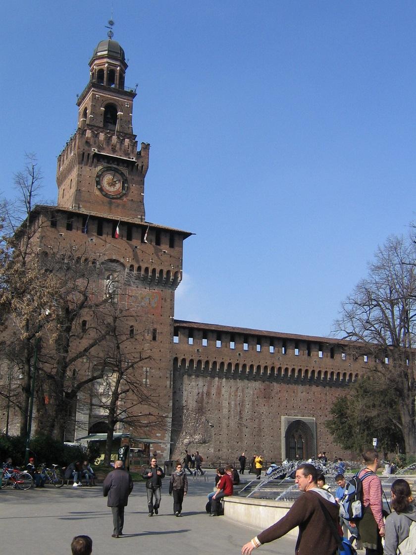 Castello Sforzesco (2) - Milano