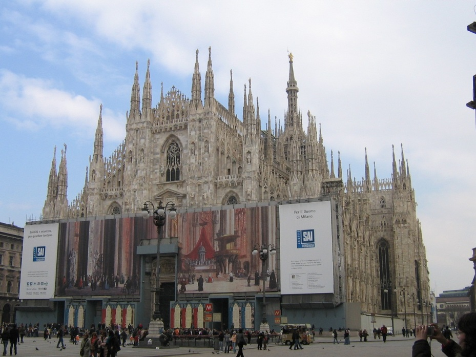 Duomo di Santa Maria Nascente - Milano