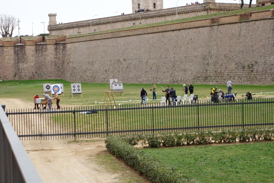 Castelul Montjuic-Barcelona