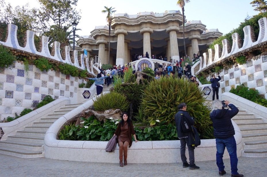 Parc Guell - Gaudi - Spain