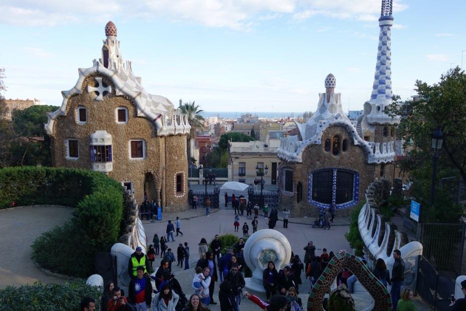 Parcul Guell - Antonio Gaudi