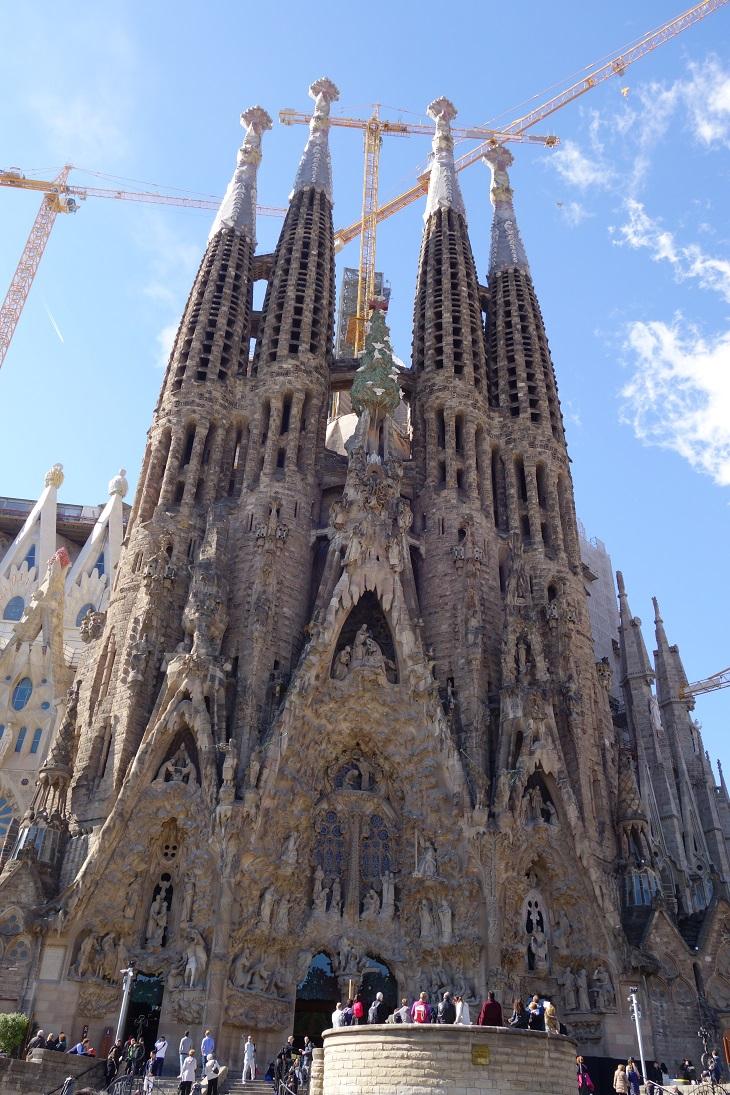 Sagrada Familia -Antonio Gaudi - Barcelona