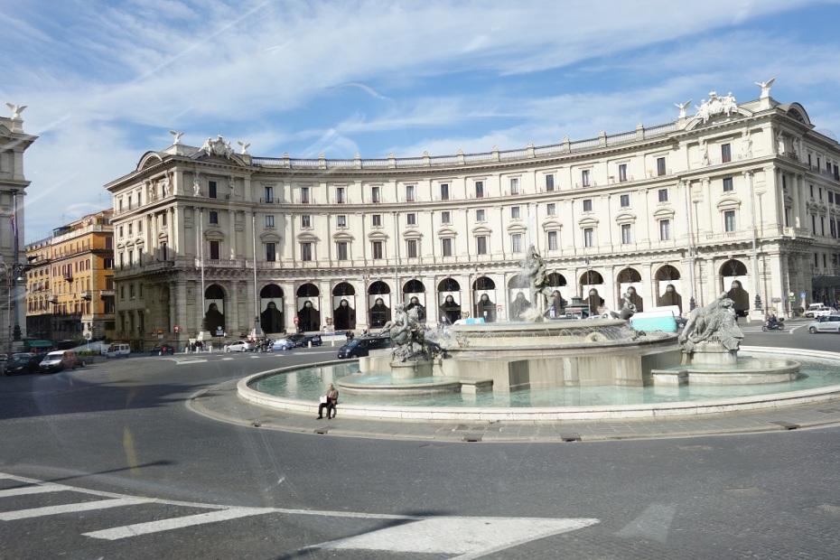 Roma-Italia-Martie