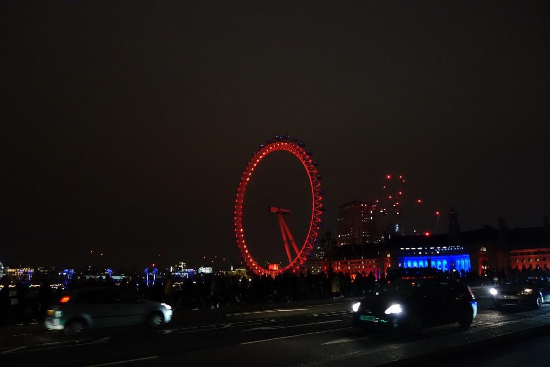 London Eye noaptea