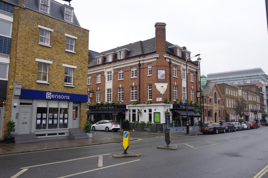 Strada in Londra - Martie