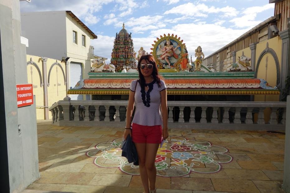 templul hindus-Reunion